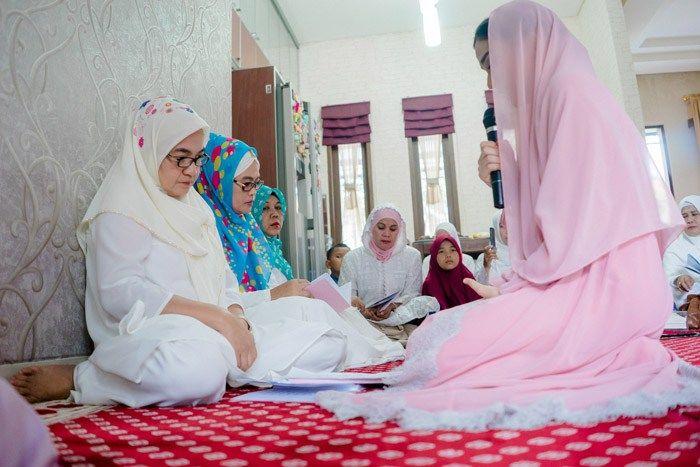 Pengajian Nina dan Chandra di Jakarta