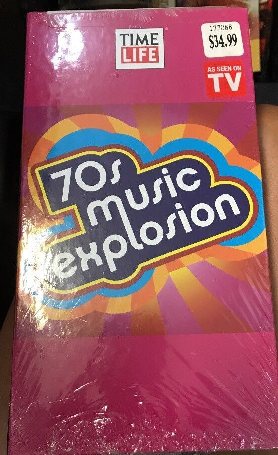 Various Artists : 70s Music Explosion Time Life 3 Cd Set Sealed