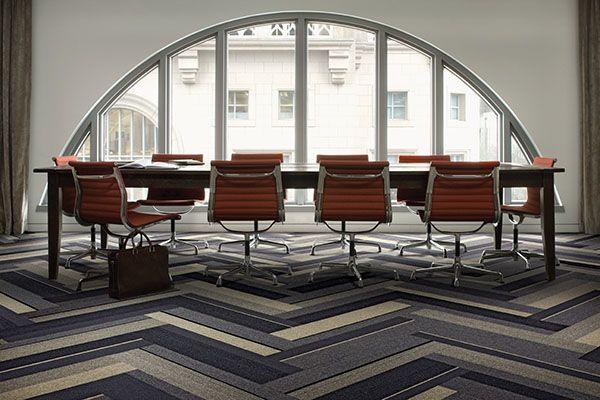 Interface | Modular Carpet Tile | Phonic | PH210 Pepper Bands | PH210 Herb Bands