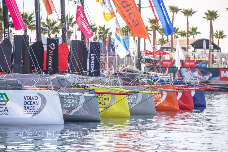 Ready for action in the Volvo Ocean Race 2014/15