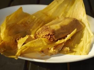 Beef and red chile tamale - Brian Yarvin/Photographer's Choice RF/Getty Images