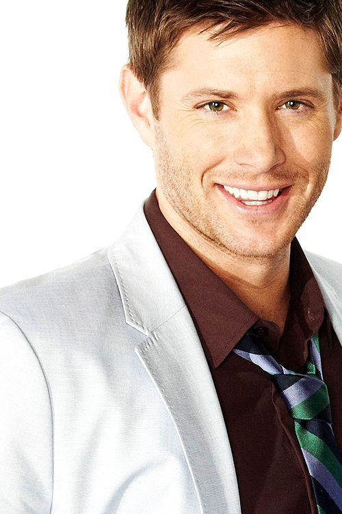 Jensen Ackles.  Yes oh yes. Seriously this is a super unhealthy addiction.