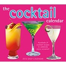 The Cocktail Calendar 2013 Desk Calendar | Wine, Beer & Spirits | CALENDARS.COM