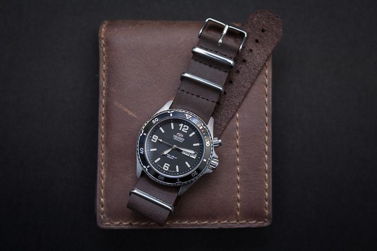 Orient Mako Leather Orient mako + c&b leather '