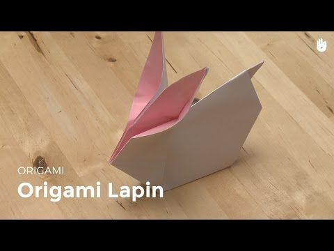 Tuto DIY : lapin de pâques en origami 🐰 | youbecom