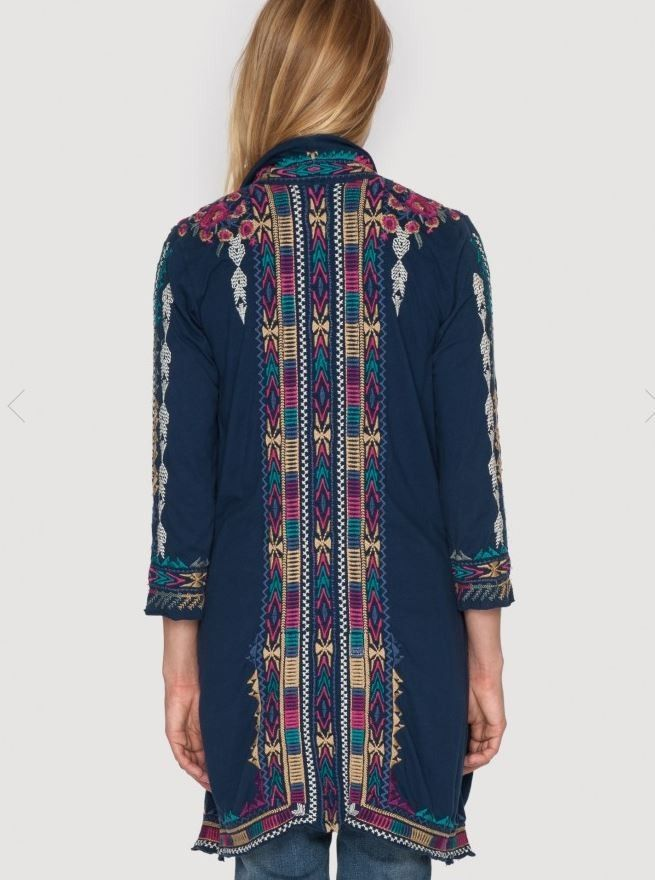 Johnny Was Colette Novelle Draped Coat - western, embroidery, cardigan, jacket, cowgirl http://www.cowgirlkim.com/johnny-was-fall-2015-colette-novelle-draped-coat.html