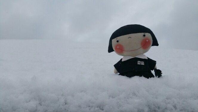 눈 오는 날~마중이 학교가야지~