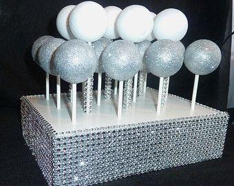 bling candy buffet | ... stand holder display candy bar buffet table centerpiece serving set
