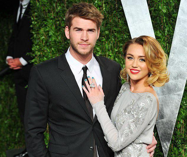 Майли Сайрус и Лиам Хемсворт определились с датой свадьбы #MileyCyrus #LiamHemsworth #звезды #знаменитости