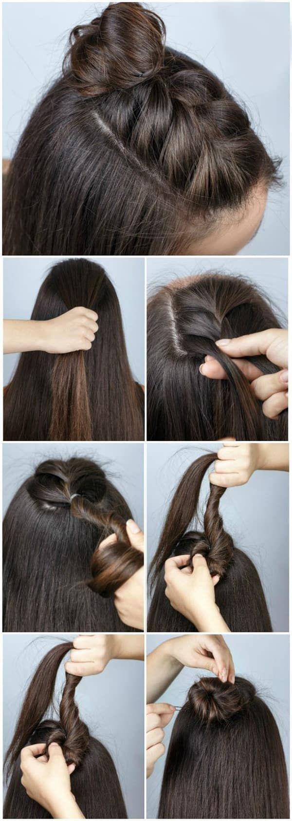 Повседневные прически для длинных, коротких и средних волос - разнообразные идеи и фото уроки. Большая коллекция стильных и лёгких причёсок на <em>самолет</em> каждый день