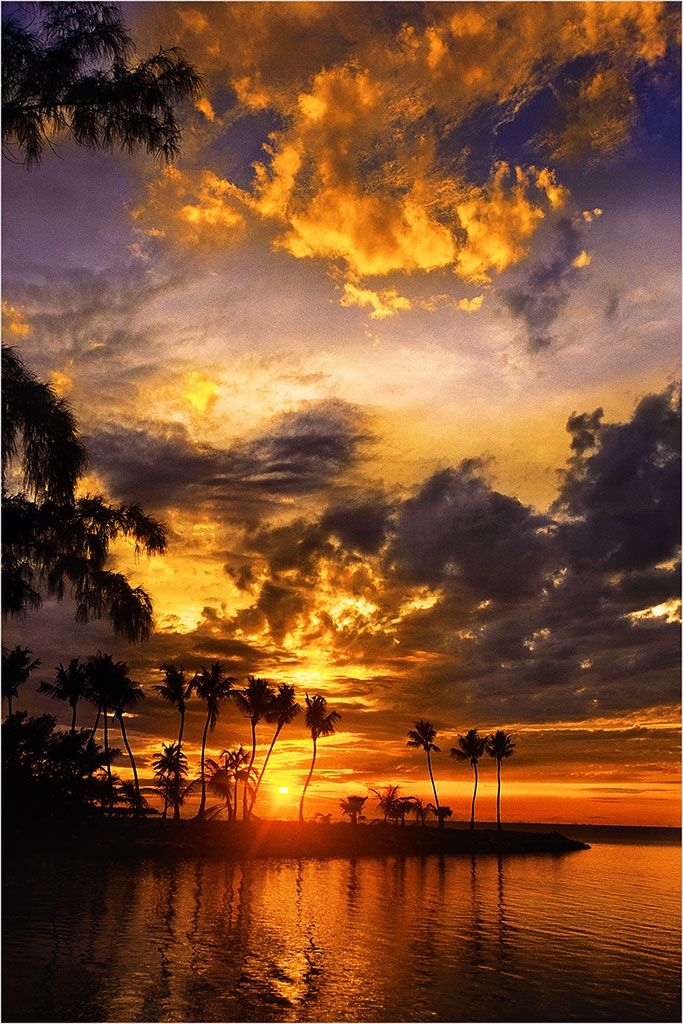 Islamorada, Florida   Been there a few yrs back.  Beautiful sunrises...then run across the road and see the sunset in the evening.