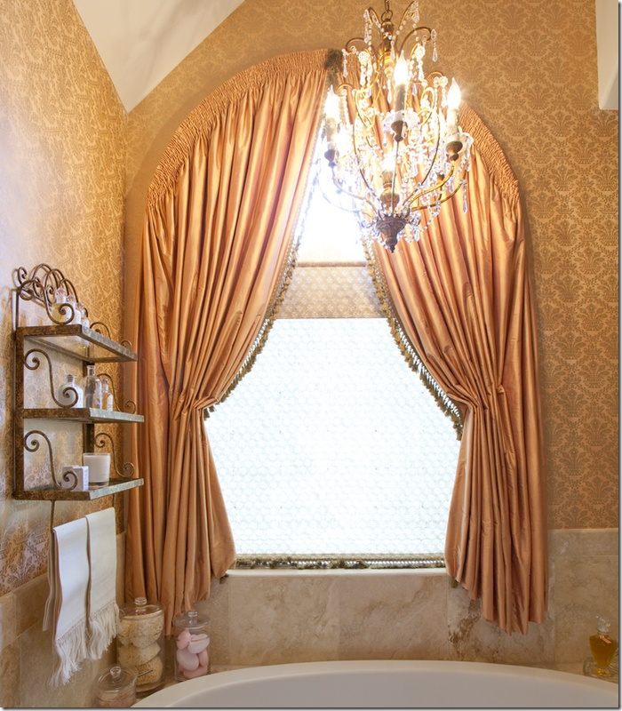 Arch Window Treatment Window Dressing Pinterest