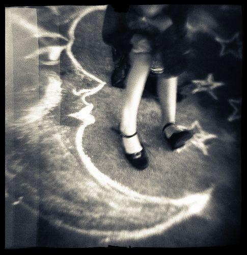 .: Moon Dance, Dancing, Chalk Dreams, Dance Moon, Stars, Laura Burlton, Moon Photos, Dance On The Moon, Crescents Moon