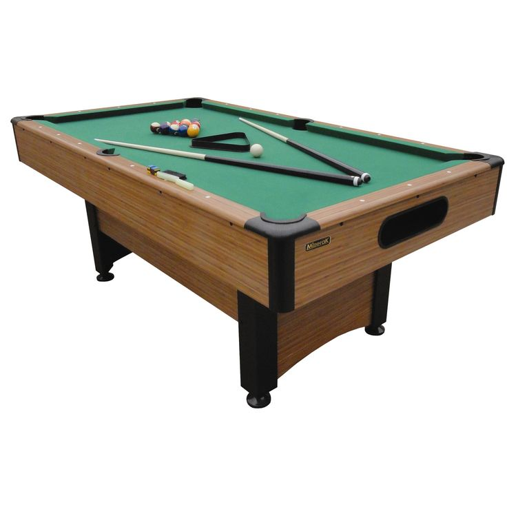 Mizerak Dynasty Space Saver 6.5' Pool Table & Accessories