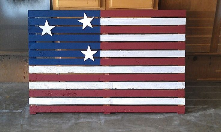 Home made flag