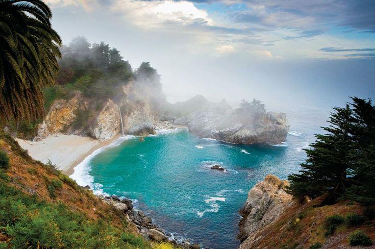 Райское место 😍 BIG SUR, КАЛИФОРНИЯ #калифорния #отдыхвкалифорнии