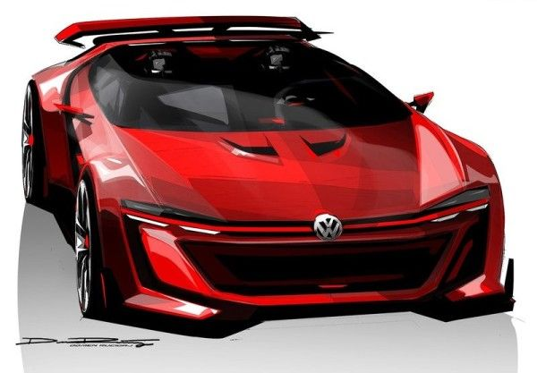 2014 Volkswagen GTI Roadster Front 600x417 2014 Volkswagen GTI Roadster Full Review and Features Details