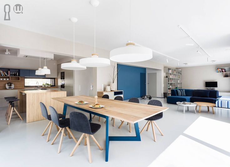 Modern, energetic dinning room  #dinningtable #moden #moderninterior #interiordesign #woodentable