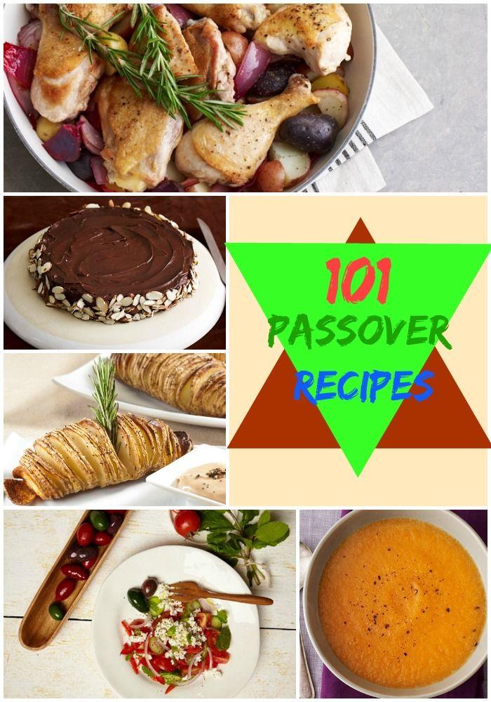 101 Passover Recipes from JoyofKosher.com