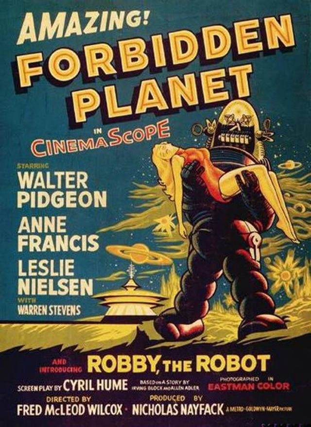 vintage everyday: 14 Hilarious Vintage Sci-Fi Movie Posters from the 1950s and 1960s
