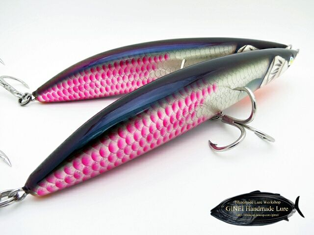 Ginei handmade lure fishing pinterest for Walleye fishing tackle