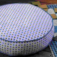 Des coussins de sol ronds - Marie Claire Idées