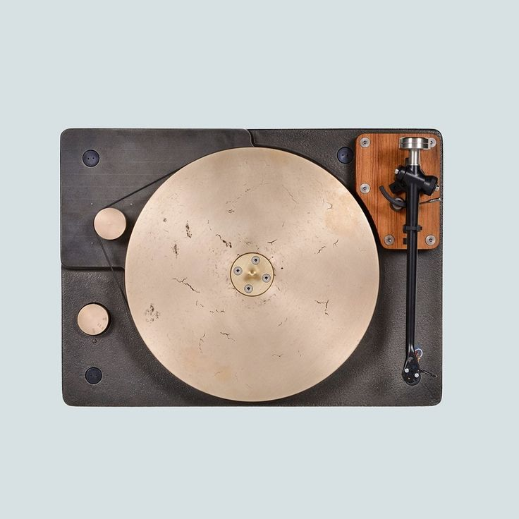 The monumental hi-fi centrepiece packs a 35-pound bronze platter. This state-of-the-art cast-iron turntable is one of the most beautiful we've ever seen - The Vinyl FactoryThe Vinyl Factory