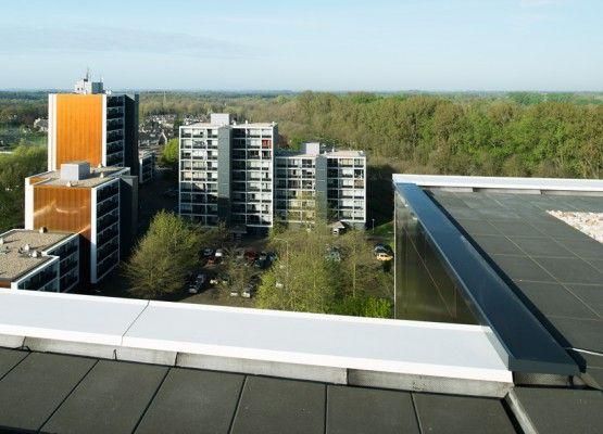 Aluminium muurafdeksystemen van Roval Aluminium ook voor renovatieprojecten. Nijmegen De Weezenhof