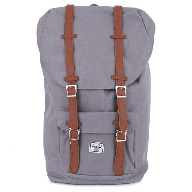 Grey Little America Backpack