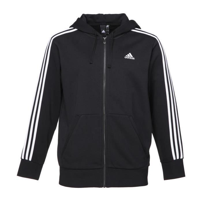 Debilitar Probar Maryanne Jones  ADIDAS Sweatshirt Ess 3S Fz Ft Males Black | Adidas sweatshirt, Adidas,  Mens sweatshirts