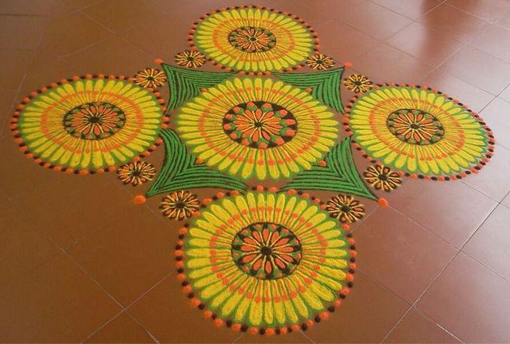 Rangoli Designs for Holi