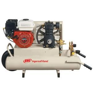 Ingersoll Rand Reciprocating 8 Gal. 5.5 HP Portable Gas Wheelbarrow Air Compressor SS3J5.5GH-WB at The Home Depot - Mobile
