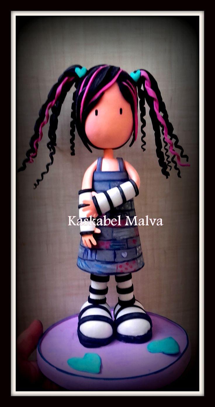 Fofuchas símil Gorjuss personalizadas también de tus personajes favoritos / Fofuchas in foamy of your favorite character.