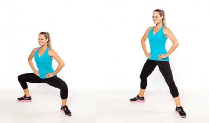 Sumo squat  3 séries de 20 Source : http://blog.lucilleroberts.com/exercise/move-of-the-week-sumo-squat