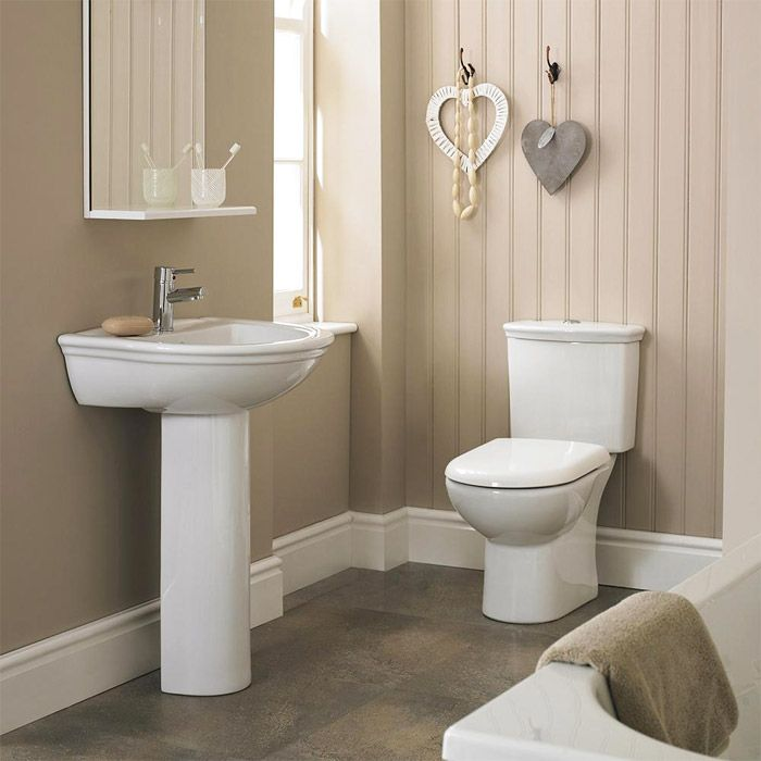 Premier barmby 2 piece bathroom suite product code for Small 4 piece bathroom designs