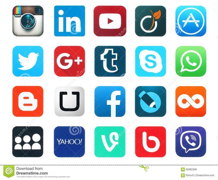 Картинки по запросу иконки социальных сетей