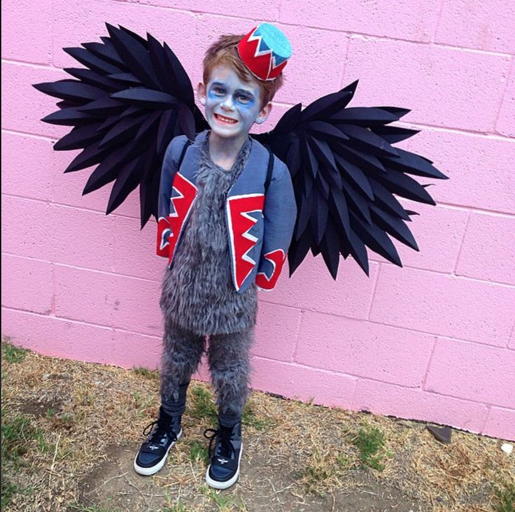Flying Monkey - Wizard of Oz, Paper wings