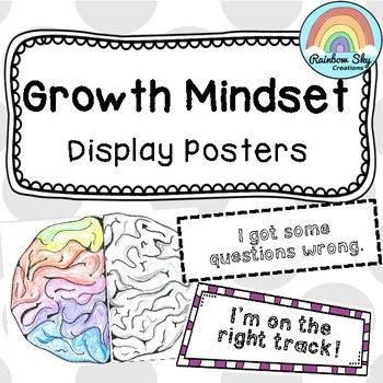 Fixed versus Growth Mindset posters. Includes 13 phrases and answer key. Colour coded to match. Use as many or all of the phrases. Adjustable for all grades. ~ Rainbow Sky Creations ~