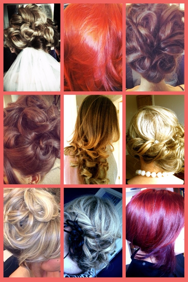Different hair styles and colors!  Hair  Pinterest