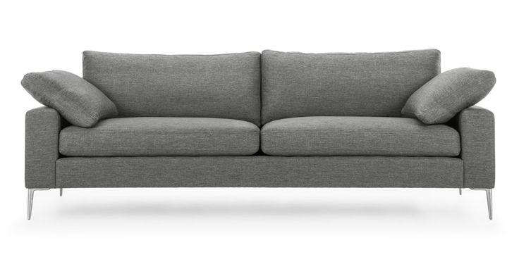 Nova Gravel Gray Sofa