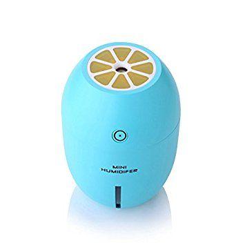 Cinq 0Huit À ultrasons humidificateur USB Portable Mini Citron Night Light 180ml Cool Mist voiture Purificateur d'air Diffuseur Vapeur: Amazon.ca: Maison et Cuisine