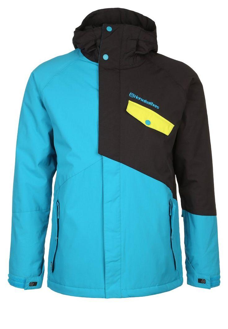 Horsefeathers NOLAN Kurtka snowboardowa blue 779.00zł #moda #fashion #men #mężczyzna #horsefeathers #kurtka #snowboardowa #męska #blue #niebieski #czarny #żółty #sportowa #blue #black #yellow