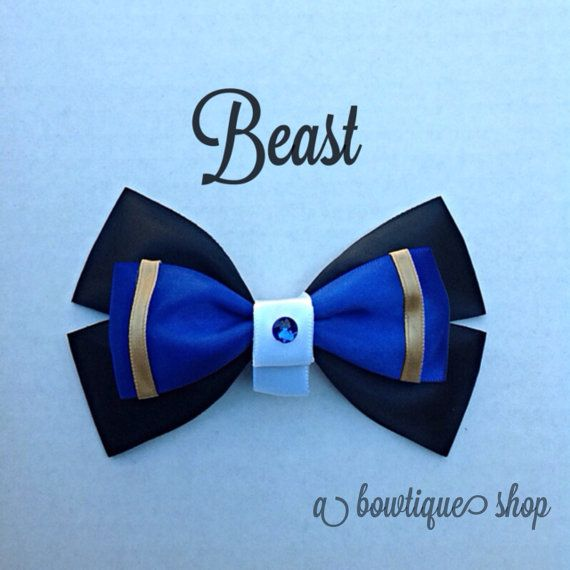 beast hair bow by abowtiqueshop on Etsy, $6.50