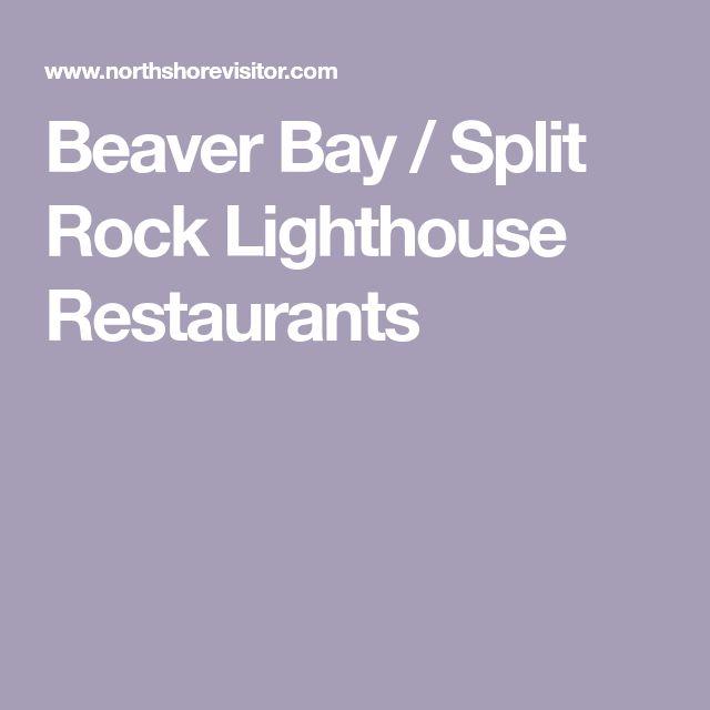 Beaver Bay / Split Rock Lighthouse Restaurants