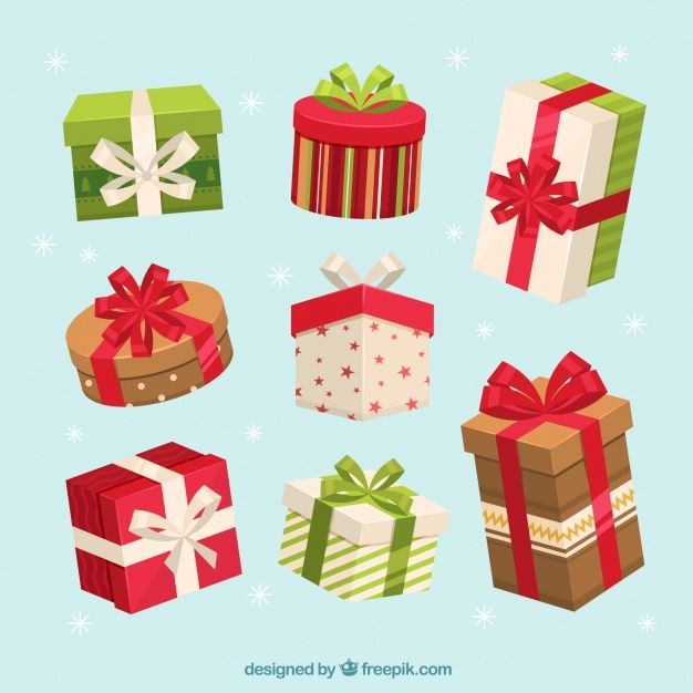 Download Set Of Nice Gift Boxes For Free Free Christmas Gifts Gift Box Design Vector Free