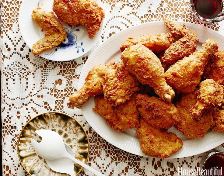 My Grandmother's Fried Chicken - Chef John Besh's cherished family recipe.