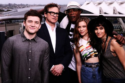 Exclusive Colin Firth Taron Egerton And Sophie Cookson: 25+ Best Ideas About Sofia Boutella Kingsman On Pinterest