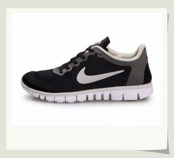 sports shoes 79b26 f5cc4 ... uk mens free run nike free black pure platinum reflect silver 354574  001 aedd6 8c566