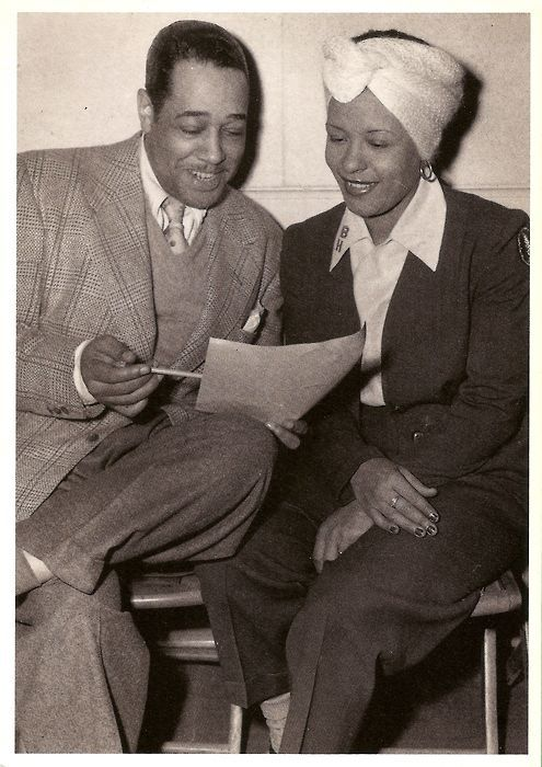 Duke Ellington and Billie Holiday-1950