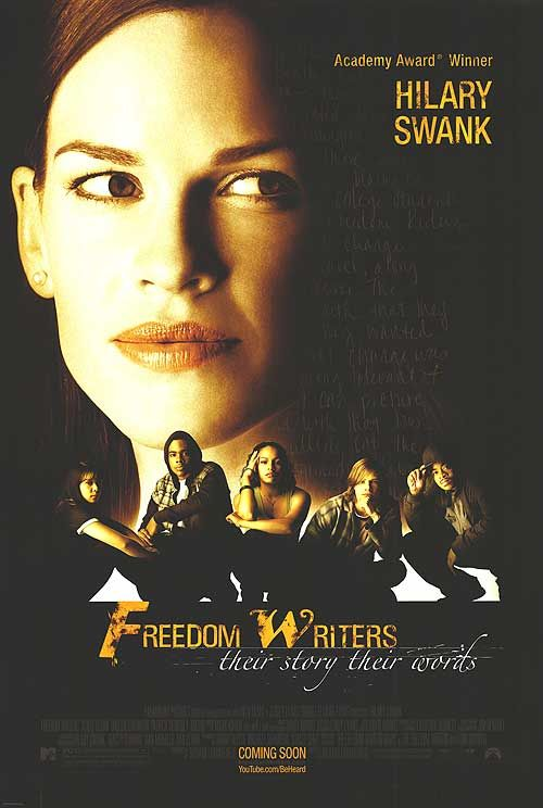 freedom writers the good teacher myth A good teacher: freedom writers  based on the book the freedom writers diary and supported by a cast of  a good scene from freedom writers .